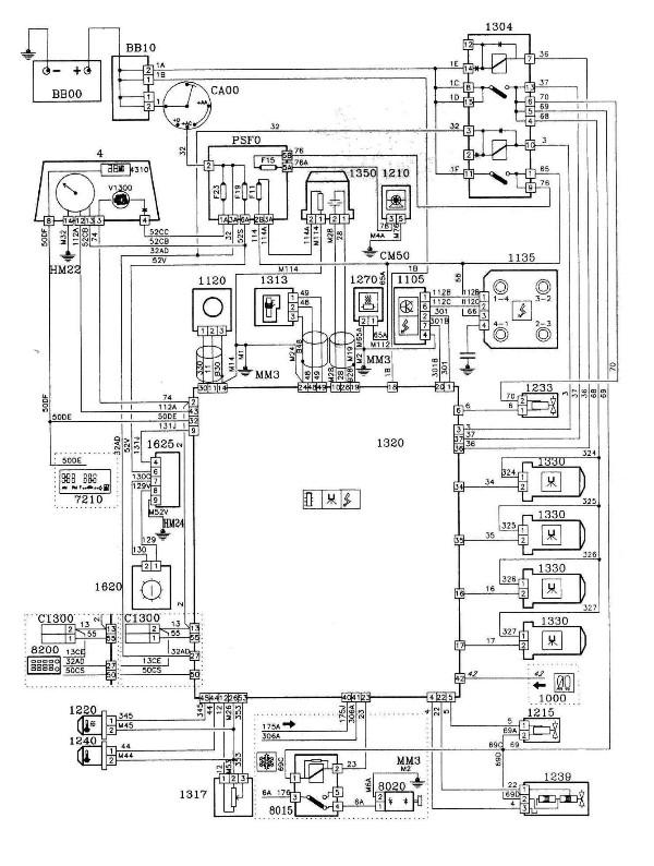 schema relais bosch