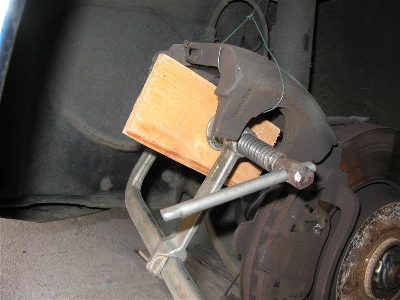 Changer plaquette de frein arriere 307 sw